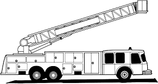 Fireman And Fire Truck Coloring Pages Inspirational Fire Truck