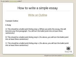 how to write a simple essay essay writing help 6 do you need a custom essay