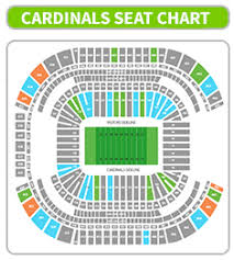 Cardinals Stadium Seating Chart Arizona 48 Unique Arizona Football Seating Chart