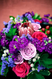 ... Purple Bouquet by Dandie Andie Floral Designs and Boakview Photography  ...