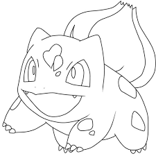 Small Picture Bulbasaur Pokemon Coloring Pages 8 Nice Coloring Pages for Kids