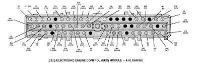 ford bronco e150 van a 4 9 motor 12v ecm distruber module put graphic
