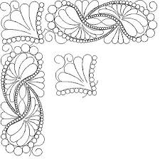 Shop | Category: Feathers / Pearls / curls | Product: SP 4 Paisley ... & computerized, digitized quilting patterns for a longarm quilting machine Adamdwight.com
