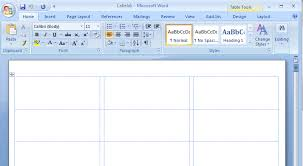 5160 Labels In Word How To Create Mailing Labels In Word
