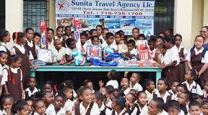sunita travel agency donates sports