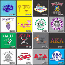 Design Sorority Logo Designs And Printing Of Frat Party Shirts Sorority Or