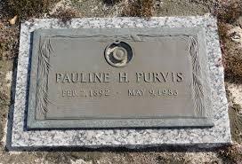 Pauline Herlong Purvis (1892-1983) - Find A Grave Memorial