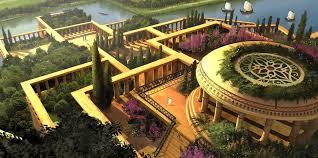Вавилон Висячие сады Семирамиды Фото Чудо света Доклад Реферат  Висячие сады Семирамиды