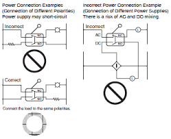 safety precautions of limit switches cautions for limit switches do not connect a single limit switch to two power supplies that are different in polarity or type