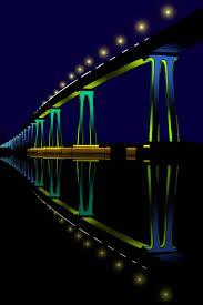 Bay Bridge Lights Project San Diego Coronado Bay Bridge Lighting Project Burohappold