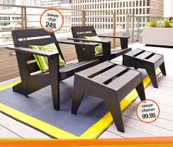 contemporary cb2 patio furniture. Oooh, A Modern Adirondack Chair // Sawyer II In All Outdoor Contemporary Cb2 Patio Furniture I