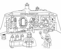 Small Picture Lego Harry Potter Coloring Pages Miakenasnet