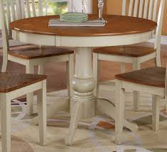 table excellent white round dining 4 legs 18 endearing wood room fabulous picture of small design