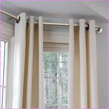 diy bay window curtain rod bay window curtain pole home curtain rods for bay windows