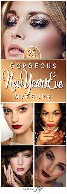 25 absolutely gorgeous new years eve makeup ideas