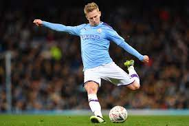 Oleksandr Zinchenko scores his first goal of this season for Manсhester City  - Oleksandr Zinchenko scores his first goal of this season for Man City -  112.international