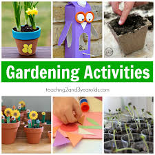 this collection of preschool gardening ideas is not just about planting but is also filled