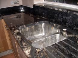Kitchen Sinks For Granite Countertops Titanium Granite Installed Design Photos And Reviews Granix Inc