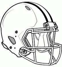 Packers Football Helmet Coloring Page - Coloring Home