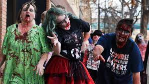 Photos: Zombies walk around downtown Billings | Local News |  billingsgazette.com