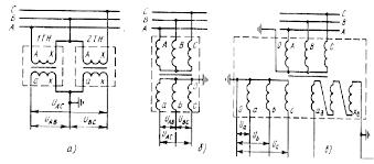 Реферат Измерительные трансформаторы напряжения com  б Конструкции трансформаторов напряжения
