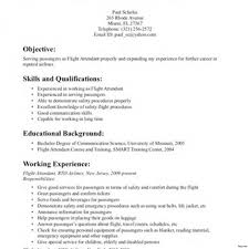 Flight Attendant Objective Resume Examples Resume For Flight Attendant Job Resume For Flight Attendant Job 11