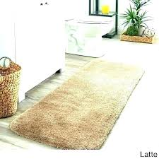 gold bath rugs yellow