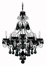 14 best black chandeliers images on black chandelier intended for contemporary residence black crystal chandelier designs