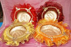 Indian Wedding Tray Decoration DIY How to Make Decorative Trays for Wedding DIY and Crafts 12