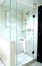 half wall shower half wall shower enclosure glass doors stud panels wall shower head bracket
