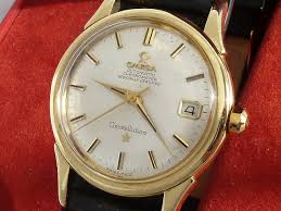 omega constellation 18ct gold c 1958 secondhand and vintage omega constellation 18ct gold c 1958