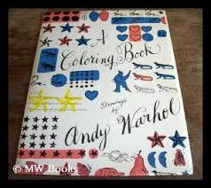 a coloring book drawings by andy warhol andy 1928 1987