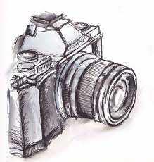 black and white camera traceyfletcherking spot au diy art drawing diy art cameras drawings and black