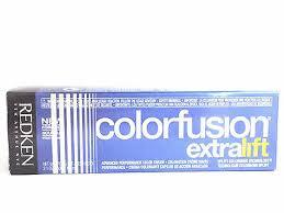 Redken Color Fusion Extra Lift El V El Ln El B El Mn El G Choose Any Shade Ebay