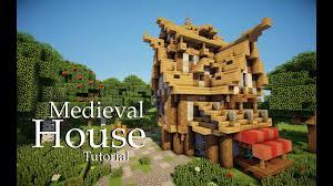 Minecraft Medieval House Designs Minecraft Medieval House Tutorial Design 4