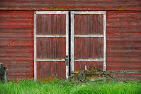 red barn door. Red Barn Doors Door