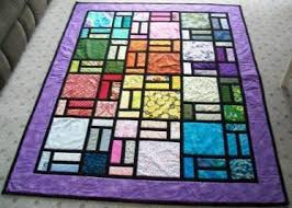 Stained Glass Quilt Pattern Gorgeous Stained Glass Quilt Projects From Designed By Bob Craftsy Villa
