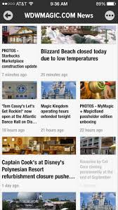 NEW - WDWMAGIC news headlines now ...