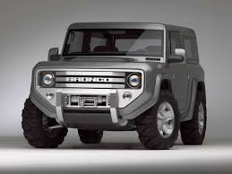 2020 Ford Bronco Front  0