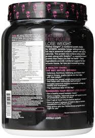 fitmiss delight healthy nutrition shake for women vanilla chai 1 2 pound