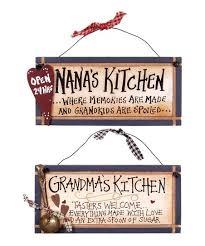 grandmas kitchen wall plaque