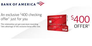 bank of america promotions 100 250
