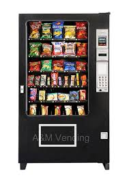 Used Ice Vending Machines For Sale Mesmerizing AMS 48 Snack Food Vending Machine AM Vending Machine Sales