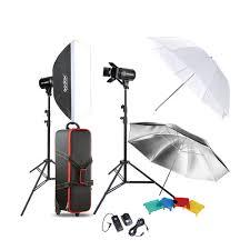 ox professional photography photo studio sdlite lighting lamp kit set with 2 300w