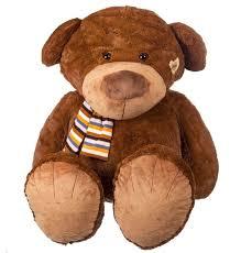 "<b>Мягкая игрушка</b> ""<b>Медведь</b> в шарфе"" (80 см) | www.gt-a.ru"