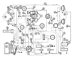 ariens 931026 000101 gt 19hp kohler hydro parts diagram for dual clutch electrical wiring diagram