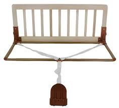 crib bed rail finish natural kidco toddler beds nursery by kidco