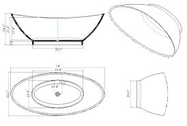 standard bathtub size standard bathtub size in feet standard bathtub dimensions india