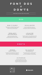 MOO\u0027s Font Dos \u0026 Don\u0027ts | Graphic Design Love | Pinterest ...