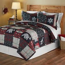 Mainstays Moose Lodge Holiday Quilt Set - Walmart.com & Mainstays Moose Lodge Holiday Quilt Set Adamdwight.com